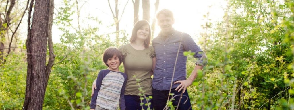 Tana Benner and her family